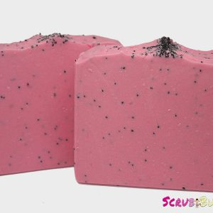 Fresh Strawberry Poppy Exfoliating Soap