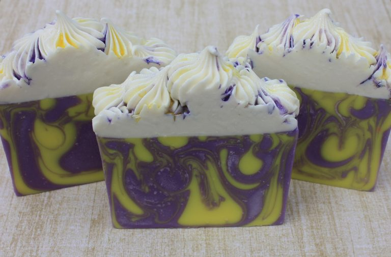 Lemon & Lavender Handmade Soap